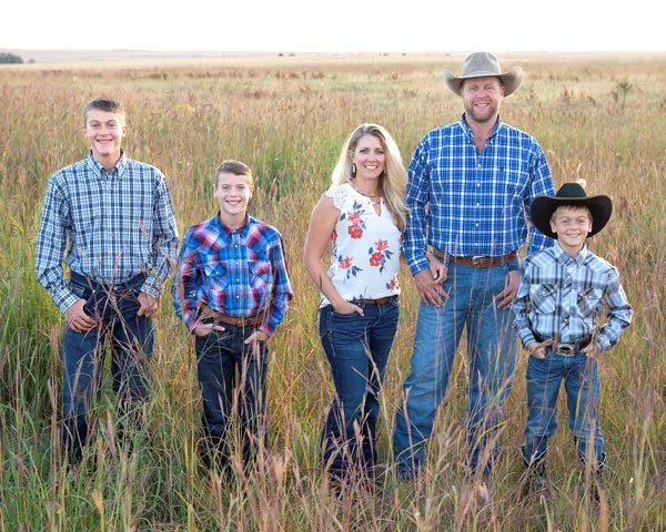 Alexander ranching family honored