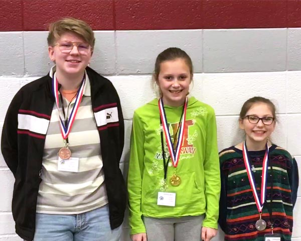 Watford City has the county's top spellers