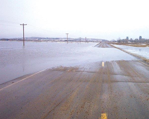 Cartwright area braces for spring flooding