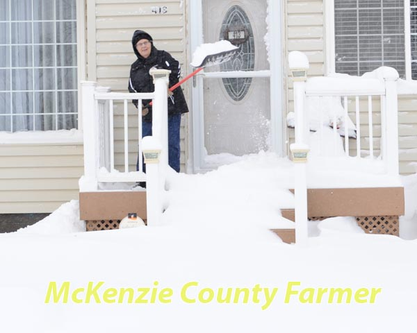 "Winter storm dumps 11"" of snow across county"