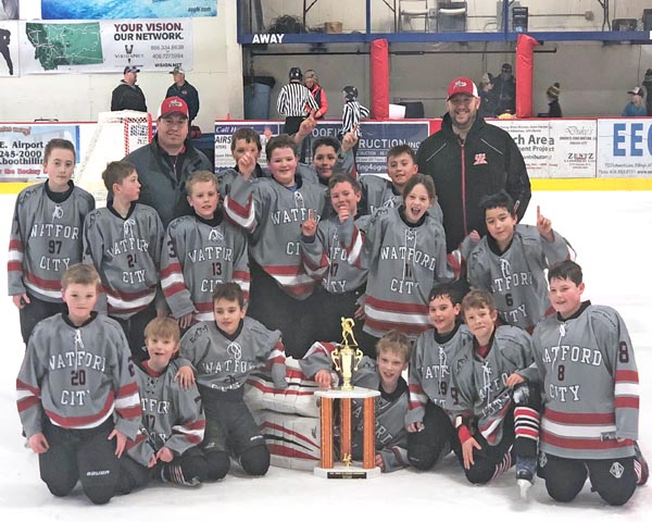 Squirts take first place in Billings Ice Breaker Tournament