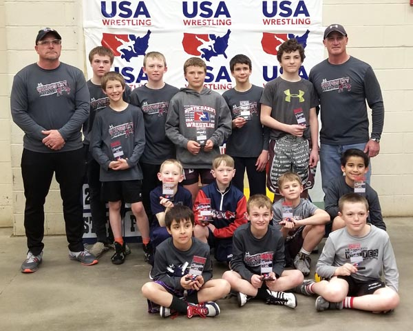 Wrestlers repeat as state duals champs