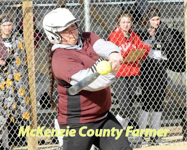 Wolves off to slow start in softball