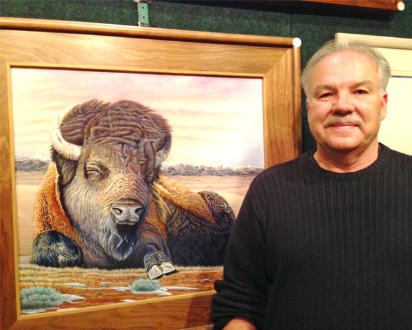 Bendixson to unveil latest painting during Homefest