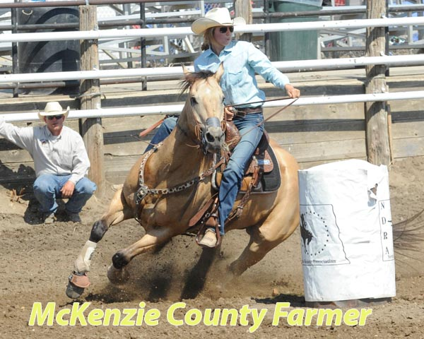 Harmon wins bareback riding at McKenzie County Fair Rodeo