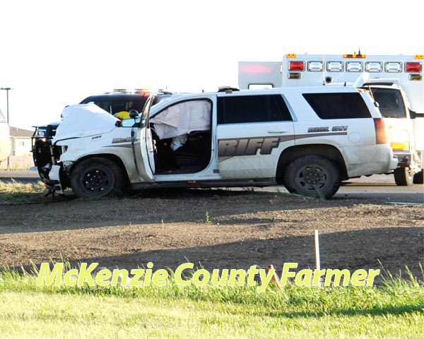 Sheriff taken to task over patrol vehicle accidents