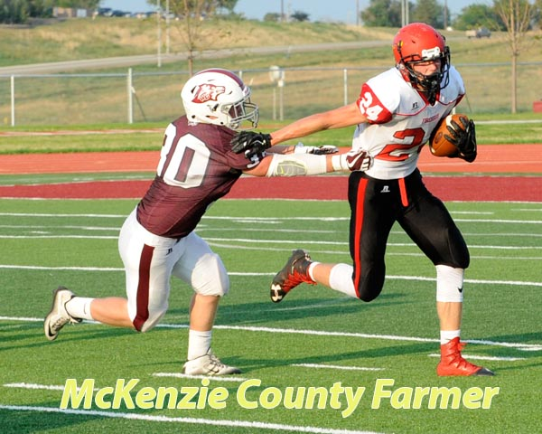 Wolves fall to Devils Lake in opening football action