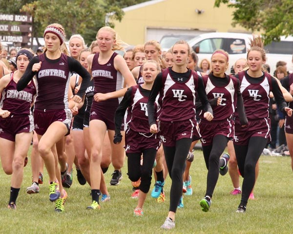 Ogle takes ninth at cross country meet