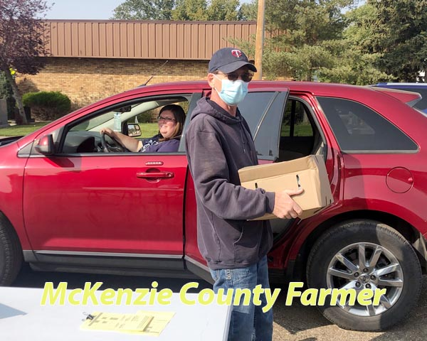 Farmers share their excess harvest to help those in need