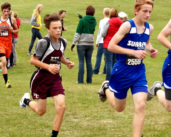 Runners compete at Valley City meet