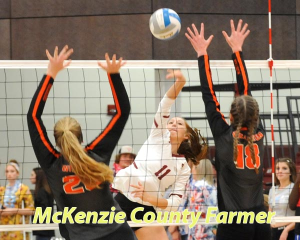 Spikers pick up big WDA win over Williston