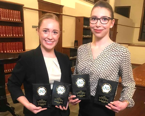 Law student gets huge win at UND
